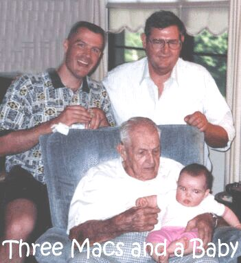 Three Macs and Baby Katie